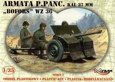 37mm BOFORS WZ.36 / ORDNANCE QF 37mm Mk I / - WW II ANTI-TANK GUN 1/35 MIRAGE
