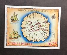 St Thomas & Prince Islands VF Canceled NH Imperf Sc#540