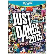 Just Dance 2015 RE-SEALED Nintendo Wii U GAME 15 2K15