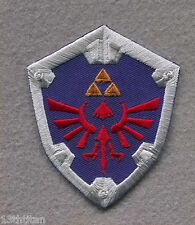Iron on patch Zelda shield Hyrule Link Game cosplay