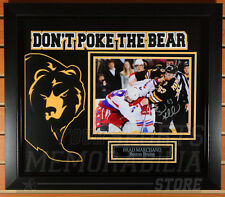 "Brad Marchand Boston Bruins Signed Autographed ""Don't Poke the Bear"" Framed 8x10"