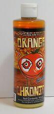 Orange Chronic 16 oz bottle water pipe cleaner