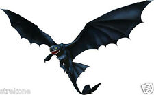How To Train Your DRAGON - TOOTHLESS The Night Fury - Window Sticker Decal - NEW