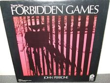 John Perrone . Theme From  Forbidden Games . Canadian . LP