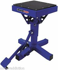 Motorsport Products P-12 Adjustable Lift Stand BLUE Motorcycle Dirtbike 92-4014