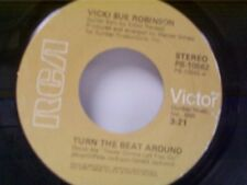 "VICKI SUE ROBINSON ""TURN THE BEAT AROUND / LACK OF RESPECT"" 45"