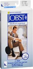 JOBST Medical LegWear For Men Knee High Socks 15-20 mmHg Black L 1 Pair