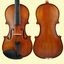Full Size 4/4 Violin Set+Case Bow Accessories Handmade Music Instrument Wood-022