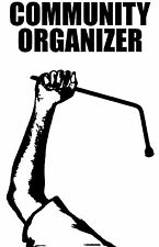 Small-Community Organizer Shirt, Standing up to tha Power. Protest w/ Edge