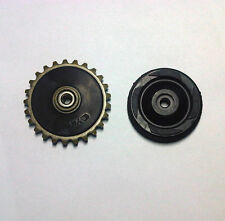 Oil pump drive gear and guided rubber wheel ATV 70cc 90cc 100cc 110cc