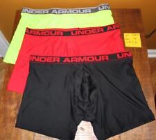 "Under Armour UA Men's Original 6"" BoxerJock Boxer Brief 3 Pair Lot  2XL  NWOT"