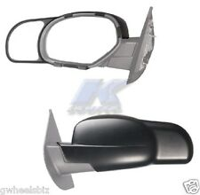 2007-2014 CHEVY SILVERADO/ TAHOE CLIP SNAP-ON TOWING SIDE MIRROR EXTENSION-PAIR