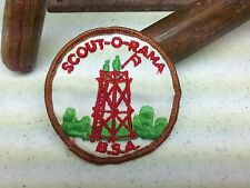 SCOUT-O-RAMA BOY SCOUT OF AMERICA PATCH