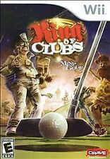 King of Clubs Mini Golf Brand New Nintendo Wii Game NIB