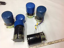 (5) Aerovox ALS30A 1173 MF 40/085/56 Capacitor 47000UF -10+50% 40 VDC NEW-USED