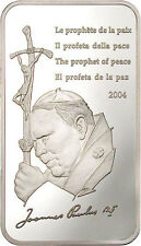 Congo 2004 Prophet of Peace 10 Francs Silver Coin,Proof