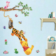 Cartoon Monkey and Bear wall sticker wall mural home decor for kids room