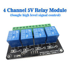 DC 5V 4 Channel Relay Modules High Level Relay Control Panel Relay 5V Module