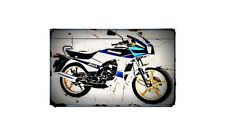 1982 ar125 Bike Motorcycle A4 Photo Poster