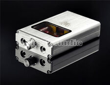 Portable Vacuum&Valve Tube Headphone Amplifier Stereo Hi-Fi Amp built-in battery