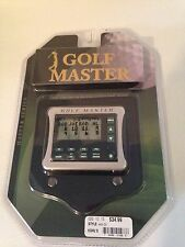 Golf Master Electronic Hand Held Track Scores Personal Caddy New In Box Sealed
