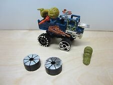 1985 VINTAGE MATTEL JAYCE AND THE WHEELED WARRIORS K.O. KRUISER W/ ACCESSORIES