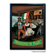 MURPHYS BAR PUB SIGN POSTER PRINT | Home Bar | Man Cave | Pub Memorabilia