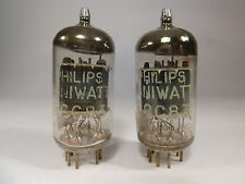 one pair 12AX7 ECC83 Philips Miniwatt Made in Heerlen Holland tested on U61C