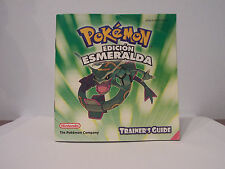 manual de instrucciones pokemon esmeralda game boy gba guia entrenador 8812