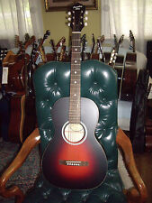 Recording King RPH-05 Solid Top Steel String Parlor 0 Size Acoustic Guitar