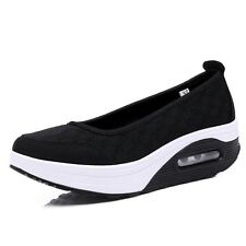 HOT Shape Ups Walking Fitness Toning Shoes Platform Wedge Sneakers Creeper Shoes