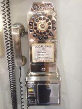 Classic 1950'S Diner Chrome Replik Kompakttelefon TP018 Retro-Style Telephone