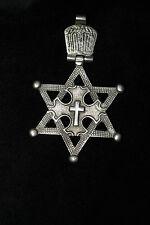Davidstern, Kreuz Äthiopien. Star of David  Ethiopia. Ethiopie: étoile de David
