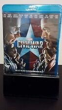 Marvel's Captain America: Civil War 2016 [Blu-ray] -Brand New(Sealed) - Free S&H