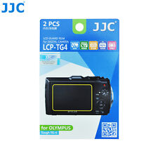 JJC LCD Screen Protector Film for OLYMPUS Waterproof Digital Camera Tough TG-4