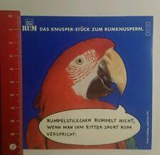 Aufkleber/Sticker: Ritter Sport rum das Knusper Stück zum (270916131)