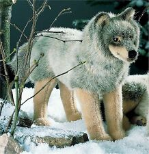 Kösener 3840 - Wolf stehend 47 cm Kuscheltier Stofftier Plüschtier