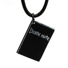 Anime Death Note Notebook Pendant Necklace Alloy Charm Jewelry Cosplay Gift NEW