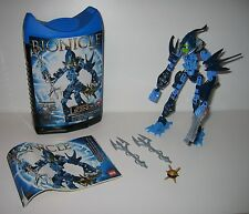 8987 LEGO Bionicle Kiina – 100% Complete w Instructions & Case EX COND 2009