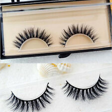 New 100%Real Mink Luxurious Natural Thick soft Handmade lashes False eyelashes