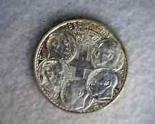 GREECE 30 DRACHMAI 1963 UNC SILVER COIN (stock# 0218)