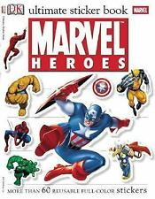 Ultimate Sticker Book: Marvel Heroes (Ultimate Sticker Books)