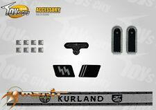 Toy City 1/6 scale Toy WWII German Insignia Set 11 for action figures
