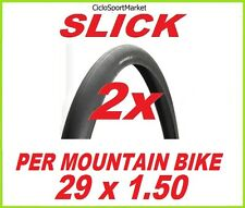 "2 x Tyres tyre SLICK 29"" x 1.50 for MTB Bike / Mountain Bike"