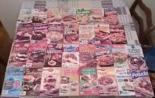 30 Pillsbury Betty Crocker Jello Kraft Bon Appetit Rival Diabetic Booklets
