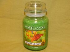 Yankee Candle 22 oz Large Jar Candle  New --- Beautiful Day