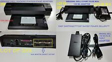 LOT OF 25 Dell Docking Station E-Port Plus Replicator PR02X E6400 E6510 +PA-4E