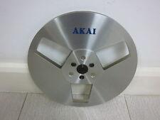 VINTAGE Metal Reel ◄ 1x Akai R-7M ALU Spule (18 cm) silber ►