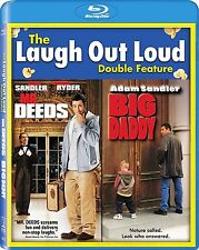 BIG DADDY / MR DEEDS  HI-DEF BLU RAY ADAM SANDLER (1999/2002) 2 DISC REGION FREE