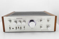 Vintage Silver Face Kenwood KA-7100 Stereo Audio Amplifier Serviced n Very Nice!